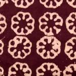 Batik fabric circles