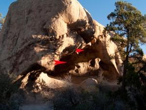 Petroglyphs in Joshua Tree National Park, California, USA