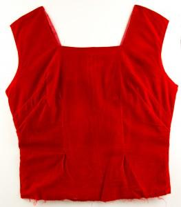 Red velvet shell